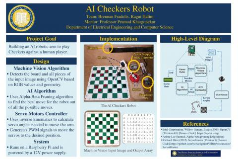 AI Checkers Robot | Design Projects